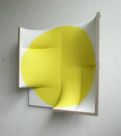 Thank you to Mike for introducing me to this beautiful work by Jan Maarten Voskuil. These are selections from two shows: Grip-No Grip and There Is No Point. Yellow Art, Mellow Yellow, Pablo Picasso, Mural Art, Felt Art, Graphic Design Art, Image Photography, Box Art, Textures Patterns