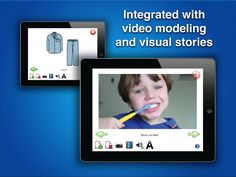 Autismate ($49.99) Integrates applied behavior analysis (ABA) strategies such as video-modeling & visual stories to promote behavior & social skills in addition to communication. Caregivers use their own pictures, videos and voice recordings that can be taken right from your iPad. Familiar scenes make it easer to share experiences with individuals on the spectrum & build communication skills, functional skills, routines, social skills, etc.