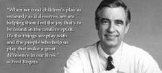 Discover and share Mr Rogers Quotes About Play. Explore our collection of motivational and famous quotes by authors you know and love. Famous Quotes From Literature, Famous Book Quotes, Will Rogers Quotes, Mr Rogers Quote, Play Quotes, Quotes For Kids, People Who Help Us, Yearbook Quotes, Wise Words