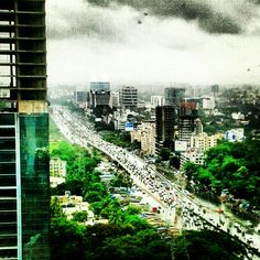 Bombay rains and the marching ants.