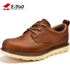 59.09$  Buy here - http://aliiya.shopchina.info/1/go.php?t=32813326349 - Spring Autumn British Mens Martin shoes Lace-up Flats Men's Casual shoes Men Genuine Leather Work Shoes Zapatos Hombre T052502  #buychinaproducts