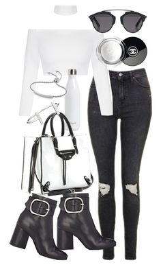 A fashion look from May 2016 featuring white shirt, skinny jeans and black booties. Browse and shop related looks. Cute Edgy Outfits, Really Cute Outfits, Mom Outfits, Everyday Outfits, Pretty Outfits, Stylish Outfits, Cute Summer Outfits, Latest Fashion Clothes, Fashion Outfits
