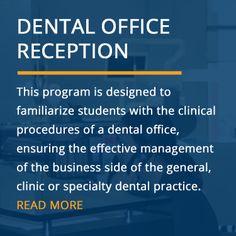dental receptionist duties