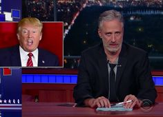 "Jon Stewart Has Returned With A ""Daily Show"" Routine About Trump"