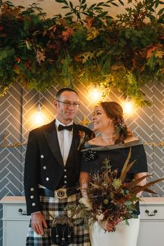 #bespoke #mixeddress #autumnal #scottishwedding Photos by http://www.zoecampbellphotography.com/