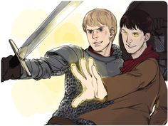 Merlin and Arthur. This is a team I would be honored to be a part of. :)