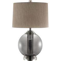 Jensen Table Lamp in Smoke Gray