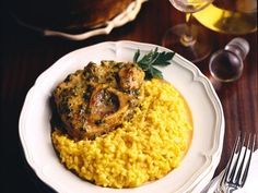 Il risotto alla milanese con ossobuco!!