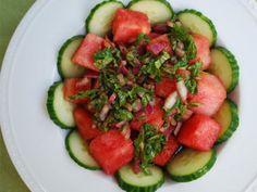 Is it summer yet?! Watermelon Salad | LettuceOM