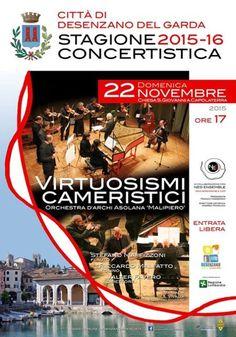 Domenica 22 novembre 2015 a Desenzano del Garda il concerto Virtuosismi Cameristici @gardaconcierge