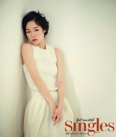 Han Ye Ri - Singles Magazine December Issue 2013