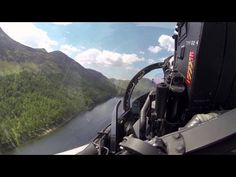 Flying the Typhoon Through the Mach Loop at Low Level - YouTube