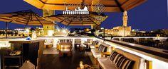 Grand Hotel Cavour #terrazzaMichelangelo #aperitivo #vfno2015 #sunshades #girasolelusso #multivalvola www.gardenart.it Hotel, Terrazzo, Restaurant, Mansions, House Styles, Home Decor, Decoration Home, Manor Houses, Room Decor