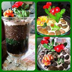 I did it, I made a Cacti/Succulent terrarium! How To Make Terrariums, Succulent Terrarium, Cacti, Indoor Plants, Acai Bowl, Succulents, Gardens, Breakfast, Desserts