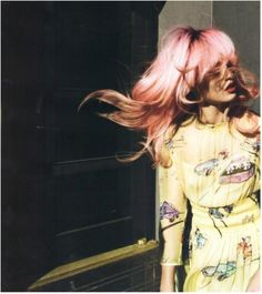 Pink Hair & Prada- Charlotte Free photographed by Cedric Buchet for 10 Magazine, Spring/Summer 2012 Charlotte Free, Foto Fun, Pastel Pink Hair, Free Photographs, Jolie Photo, Grunge Hair, Looks Cool, Diy Hairstyles, Hair Inspiration