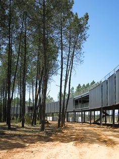 Centro de Tecnificación de Actividades Físico-Deportivas y de Ocio en el Medio Natural de la Cuenca del Tajo by Jose Maria Sanchez Garcia