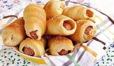 Sausages in the test #recipes #cooking #food #sausages #test