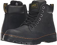 Dr. Martens Work - Winch Service 7-Eye Boot