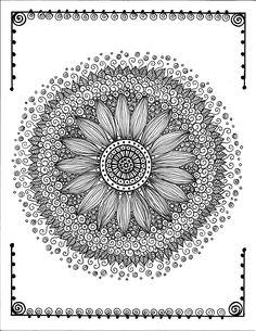 Zen Mandalas to Relax and Meditate Adult Coloring Book: Deborah Muller/Chubby Mermaid, Deborah Muller, Chubby Mermaid: 0635292811920: Amazon.com: Books