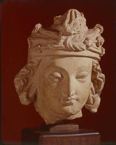 gandharan head - Greco-Buddhist art