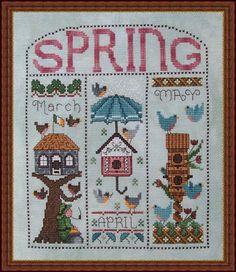Whispered by the Wind - Cross Stitch Patterns & Kits - 123Stitch.com