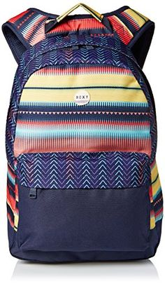 Roxy Junior's Be Young Polyester Backpack, Jagged Stripe,... http://www.amazon.com/dp/B00Y88OZLU/ref=cm_sw_r_pi_dp_JiBsxb1A1VKTP
