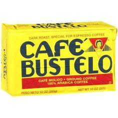 Cafe Bustelo Coffee Espresso, 10oz Bricks (Pack of 6)