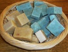 Homemade Soap - How to Make Lye Soap at Home!  WHY LYE?  Lye soap is HIGHLY recommended for dry skin!    Eases skin discomfort from Psoriasis, Eczema, Acne...