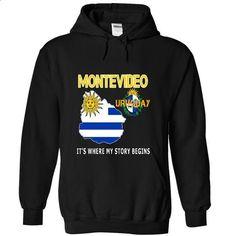 MONTEVIDEO - Its where my story begins - #tee verpackung #sweatshirt kids. ORDER HERE => https://www.sunfrog.com/LifeStyle/MONTEVIDEO--Its-where-my-story-begins-2570-Black-11611047-Hoodie.html?68278