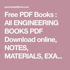 mechanical engineering books torrent download