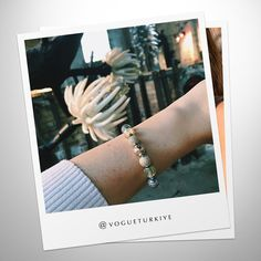 Fashion magazine Vogue Türkiye created this stunning PANDORA ESSENCE COLLECTION bracelet. #PANDORApreviewAW