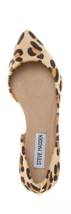 I hate animal print, but these are cute