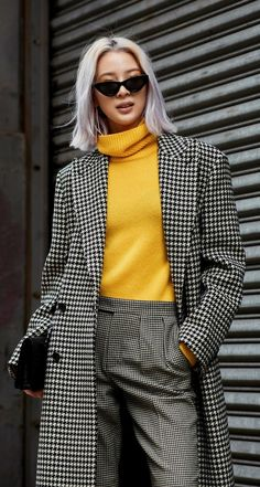 Gli Arcani Supremi (Vox clamantis in deserto - Gothian): The best street style from New York Fashion Week Fall 2018 Cool Street Fashion, Look Fashion, Winter Fashion, Fashion Outfits, Womens Fashion, Fashion Trends, Chic Winter Outfits, Winter Outfits For Work, Fall Outfits