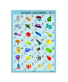 Smart Ark Ltd | Posters | Arabic Alphabet Poster