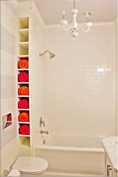 small bathroom ideas on pinterest small bathrooms bathroom shelves and toilet paper. Black Bedroom Furniture Sets. Home Design Ideas