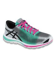 Look at this #zulilyfind! Mint & Pink GEL-Super J33™ Running Shoe by ASICS #zulilyfinds