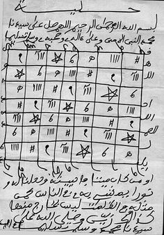 Gris-gris (talisman) - Wikipedia, the free encyclopedia secret Reading Online, Books Online, Gemini Daily, Black Magic For Love, Medical Drawings, Islamic Phrases, Islamic Messages, Quran Quotes Inspirational, Islam Facts