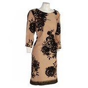 Fabulous Camel Black Rose Dress Plus Dresses Plus Women Burlington Coat Factory
