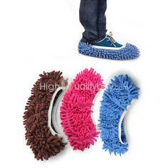 #Zapatilla de #Limpia Suelo #Pantufla de #Fregona Microfibra para Casa Limpieza