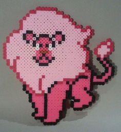 Lion - Steven Universe perler beads by ShiningArmor316