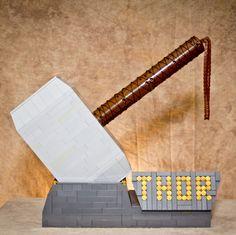 Avengers Thor Lego built Hammer