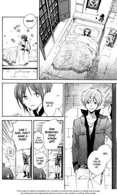 "Akagami no shirayuki hime "" Snow White with the red hair "" Zen Wistalia and Shirayuki ♡ Manga"