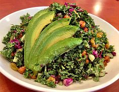 Stonefire Grill didn't use to be synonymous with vegan or vegetarian diets. Back in the day, it was definitely more of a meat-and-potatoes destination. Yummy Food, Tasty, Kale Salad, Avocado Toast, Grilling, Potatoes, Vegetarian, Diet, Vegan