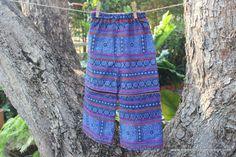 Bohemian Childrens Pants Trousers Hmong Batik Hippie by DekDoi