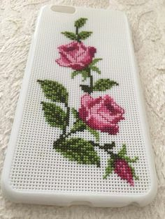 Day Unicom Gift For Her Handmade Phone Case phone case case iphone 7 plus iphone case Learn Embroidery, Crewel Embroidery, Cross Stitch Embroidery, Embroidery Patterns, Iphone 7 Plus, Iphone Case, Iphone Phone, Cross Stitch Rose, Cross Stitch Flowers