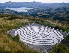 The labyrinth at Christ College is a pebbled path with a reverse seven-circuit classical design. Built by the friends of the College, it enhances the meditative work of students of this school of meditation and overlooks the beautiful Akaroa Harbour and surrounding mountains.