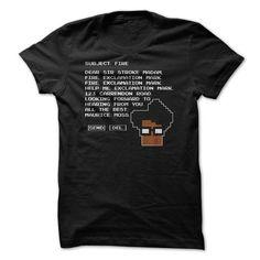 Subject Fire - Moss T Shirt - #appreciation gift #couple gift. BUY IT => https://www.sunfrog.com/TV-Shows/Subject-Fire--Moss-T-Shirt.html?68278