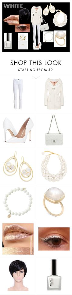 """""""Sem título #81"""" by hpollyanna ❤ liked on Polyvore featuring Barbour, Steve Madden, Chanel, Ippolita, Dominique Denaive, Sydney Evan, Sitka, WithChic and Marc Jacobs"""
