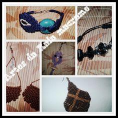 Faço acessórios em Macramé por encomenda! Visitem o site da lojinha!!! www.elo7.com.br/319266