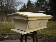 Golden Mean Top-Bar Hive from Backyardhives.com. #bees #beekeeping